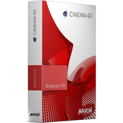 Maxon Cinema 4D Broadcast R19 India