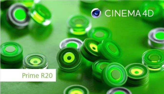 Maxon Cinema 4D Prime R20
