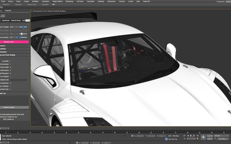 InstaLOD for Autodesk 3ds Max