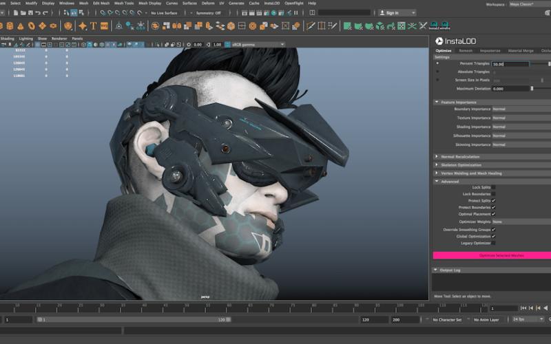 InstaLOD for Autodesk Maya