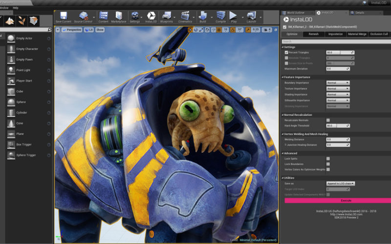 InstaLOD for Unreal Engine